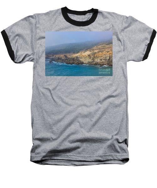 Salt Point State Park Coastline Baseball T-Shirt by Suzanne Luft