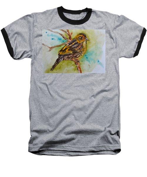 Saltmarsh Sparrow Baseball T-Shirt