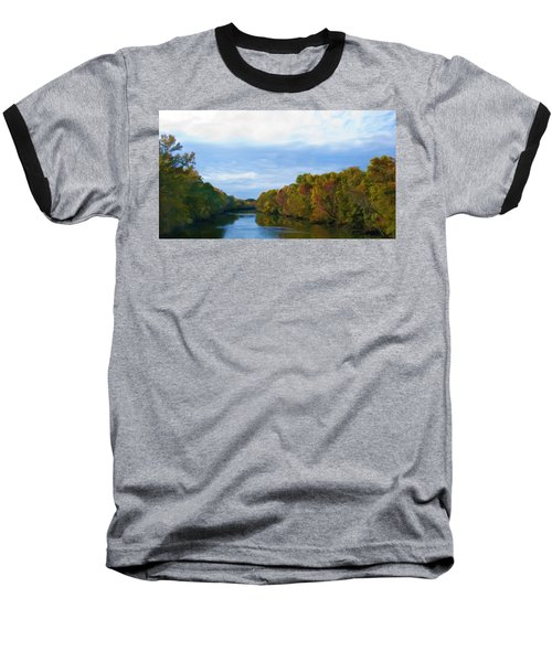Saluda River In The Fall Baseball T-Shirt