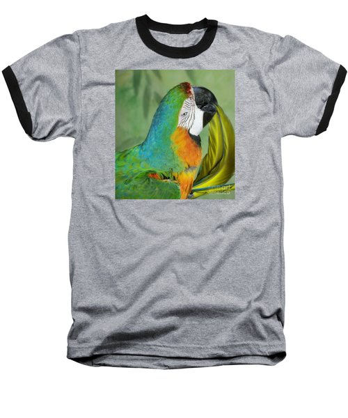 Salute I Am Blowing You A Kiss Baseball T-Shirt