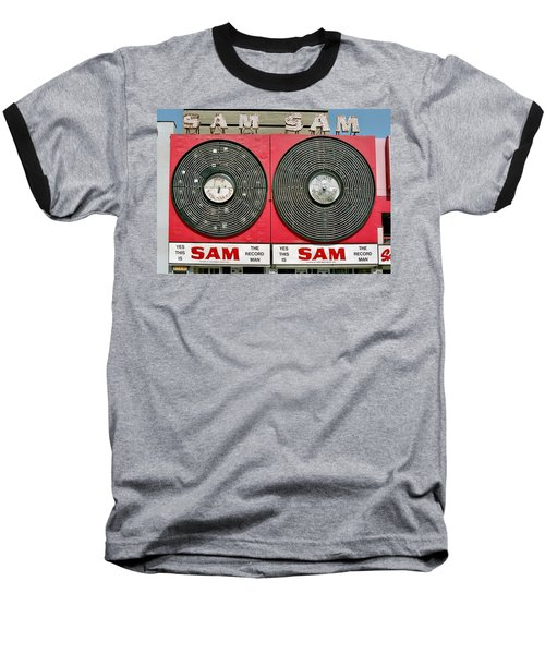 Sam The Record Man Baseball T-Shirt