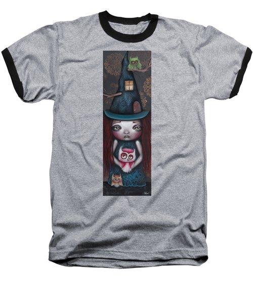 Samantha Baseball T-Shirt by Abril Andrade Griffith