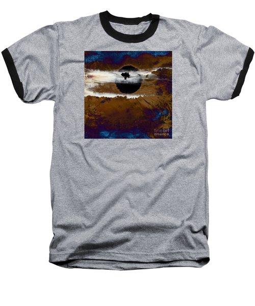 Samhain I. Winter Approaching Baseball T-Shirt by Paul Davenport