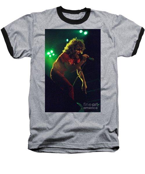 Sammy Hagar New Years Eve At The Cow Palace 12-31-78 Baseball T-Shirt