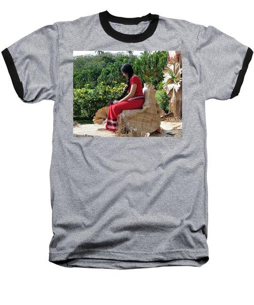 Samoa's Beauty Baseball T-Shirt