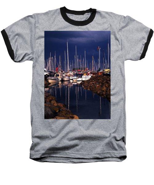 Samsoe Island Denmark Baseball T-Shirt