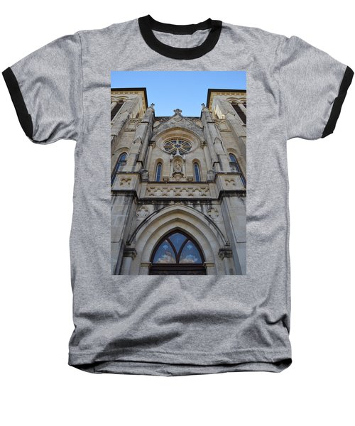 San Antonio Church 02 Baseball T-Shirt