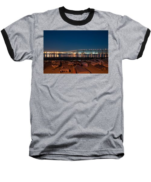 San Diego Bridge  Baseball T-Shirt