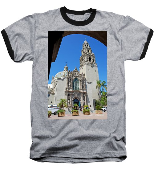 San Diego Museum Of Man Baseball T-Shirt