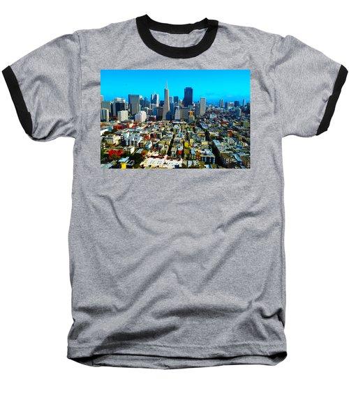 San Fran Colors Baseball T-Shirt