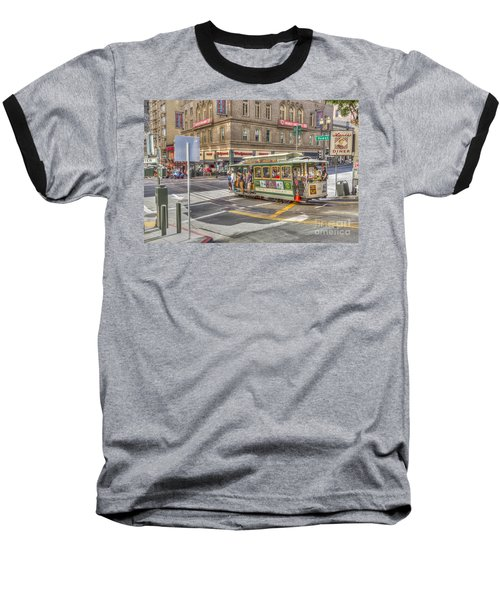 San Francisco Cable Car Baseball T-Shirt