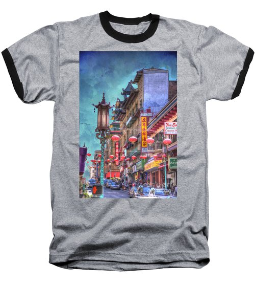 San Francisco Chinatown Baseball T-Shirt