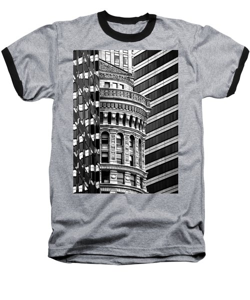 San Francisco Design Baseball T-Shirt by Art Shimamura