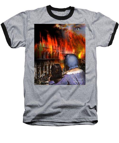 San Francisco Fire Baseball T-Shirt