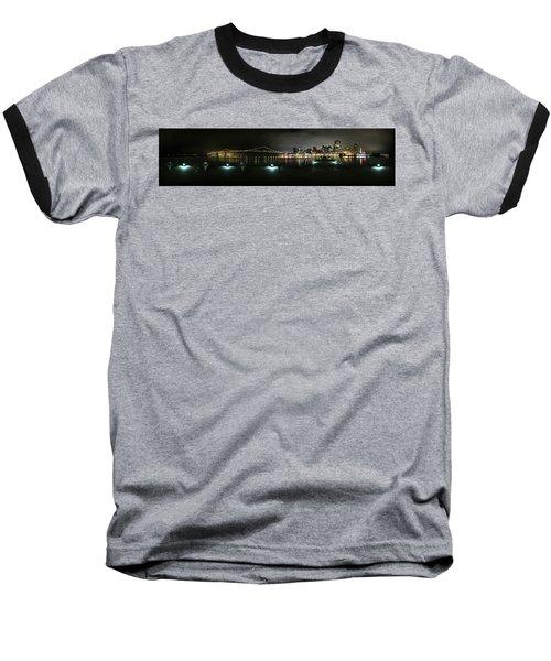 San Francisco Panorama Baseball T-Shirt