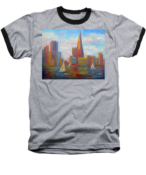 San Francisco Reflections Baseball T-Shirt