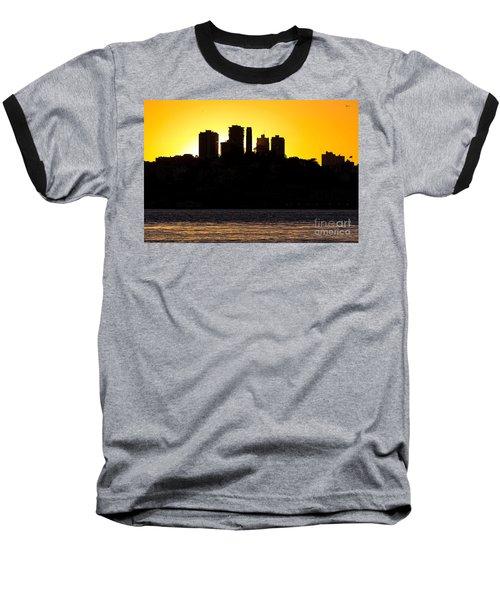 San Francisco Silhouette Baseball T-Shirt