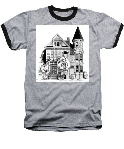 San Francisco Victorian Baseball T-Shirt