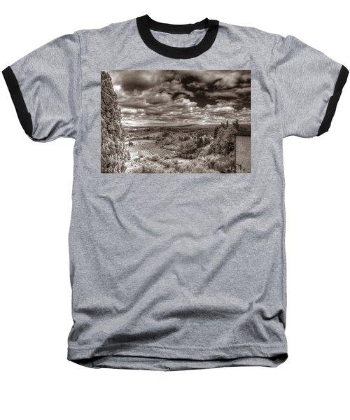 San Gimignano View Baseball T-Shirt