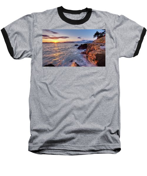 San Juans Serenity Baseball T-Shirt by Mike Reid