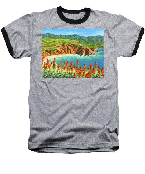 San Mateo Springtime Baseball T-Shirt by Jane Girardot