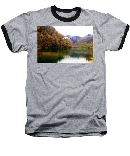 San Michele Bridge N.1 Baseball T-Shirt
