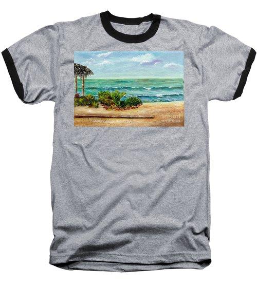 San Onofre Beach Baseball T-Shirt
