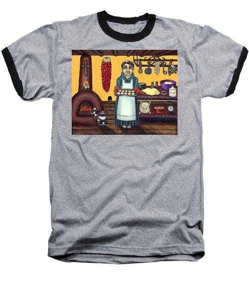 San Pascual Making Biscochitos Baseball T-Shirt
