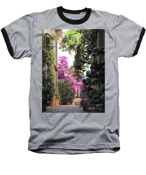 St Tropez Baseball T-Shirt by HEVi FineArt