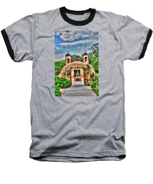 Santuario De Chimayo Baseball T-Shirt by Lanita Williams