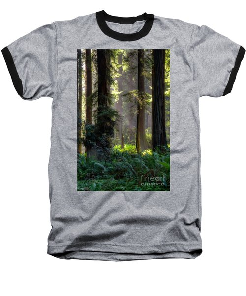 Sanctuary 2 Baseball T-Shirt by Mark Alder