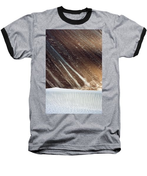 Sand Abstract, Hunder, 2006 Baseball T-Shirt