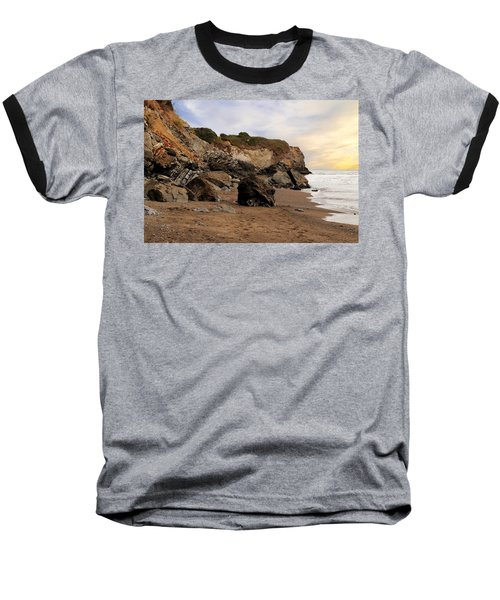 Sand And Rocks Baseball T-Shirt