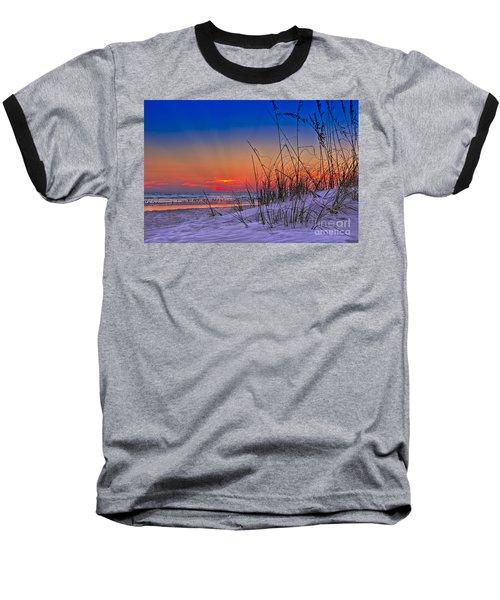 Sand And Sea Baseball T-Shirt