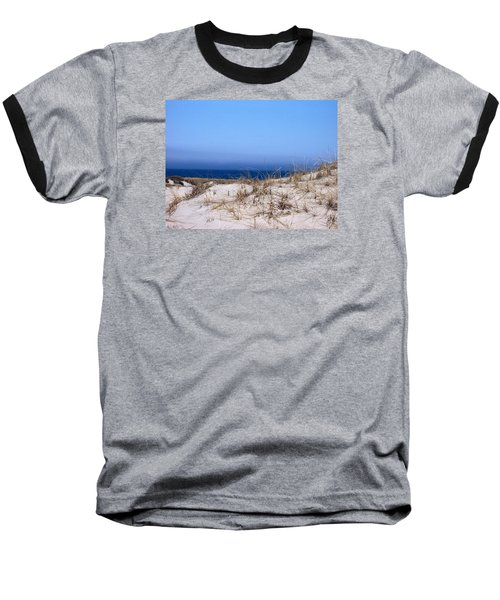 Sand And Sky Baseball T-Shirt by Catherine Gagne