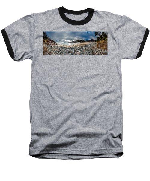 Sand Beach At Acadia Baseball T-Shirt
