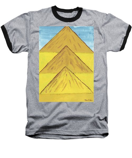 Sand Mountains Baseball T-Shirt by Tracey Williams