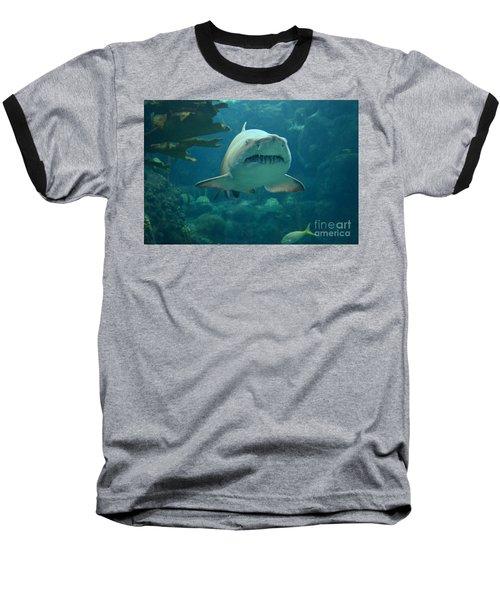 Baseball T-Shirt featuring the photograph Sand Shark by Robert Meanor
