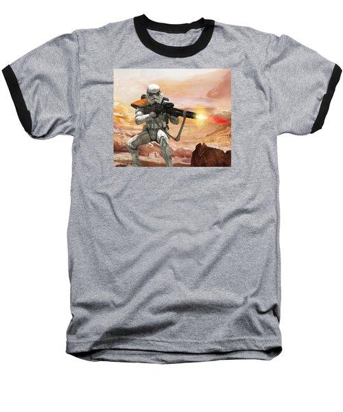 Sand Trooper - Star Wars The Card Game Baseball T-Shirt