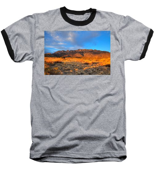 Sandia Crest Sunset Baseball T-Shirt