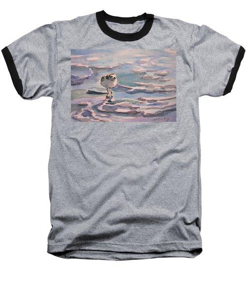 Sandpiper And Seafoam 3-8-15 Baseball T-Shirt