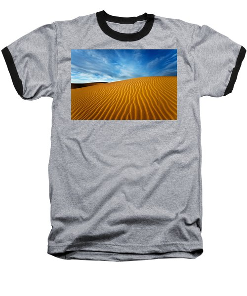 Sands Of Time Baseball T-Shirt by Darren  White