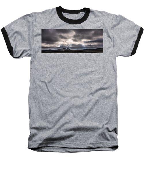 Sands Of Time Baseball T-Shirt by Gunnar Orn Arnason