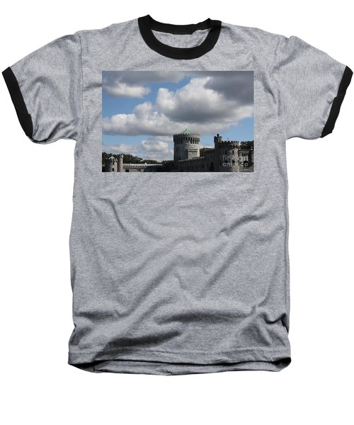 Baseball T-Shirt featuring the photograph Sands Point Castle by John Telfer