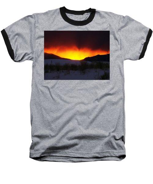 Sands Sunset  Baseball T-Shirt