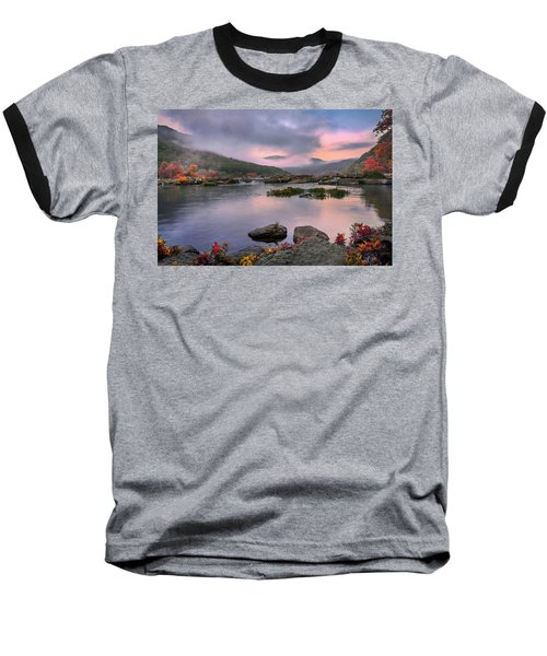 Sandstone Falls At Dawn Baseball T-Shirt