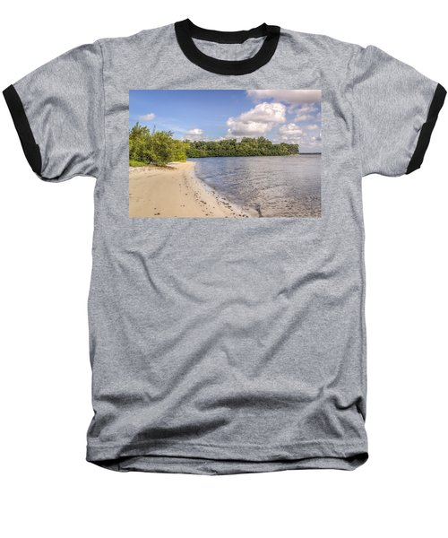 Baseball T-Shirt featuring the photograph Sandy Beach by Jane Luxton