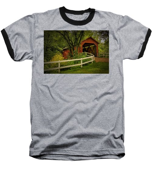 Sandy Creek Bridge Near Hillsboro Mo Dsc06888 Baseball T-Shirt
