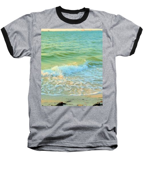 Baseball T-Shirt featuring the photograph Sanibel At Sunset by Janette Boyd