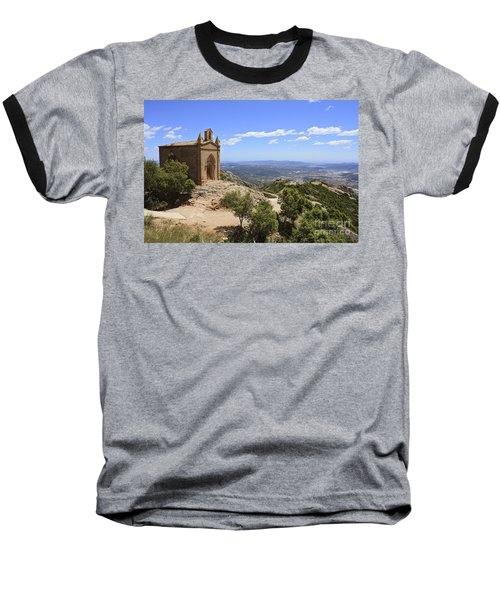 Sant Joan Chapel Spain Baseball T-Shirt